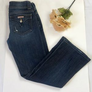 Hudson Boot Cut Denim Jeans